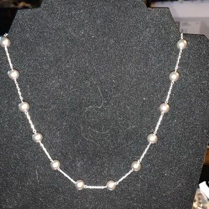 Hemitite Grey Sliver Necklace Set